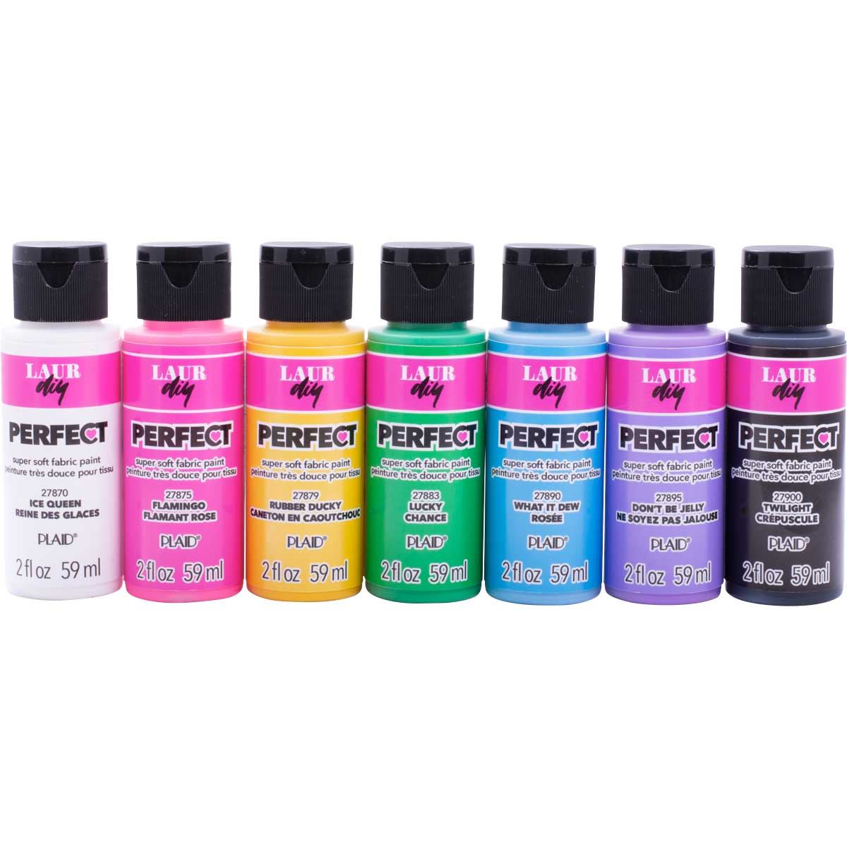LaurDIY ® Perfect Fabric Paint Set