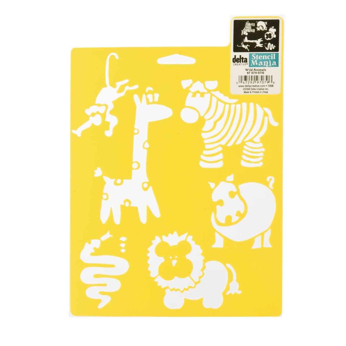 Delta Stencil Mania™ - Wild Animals - 970790710
