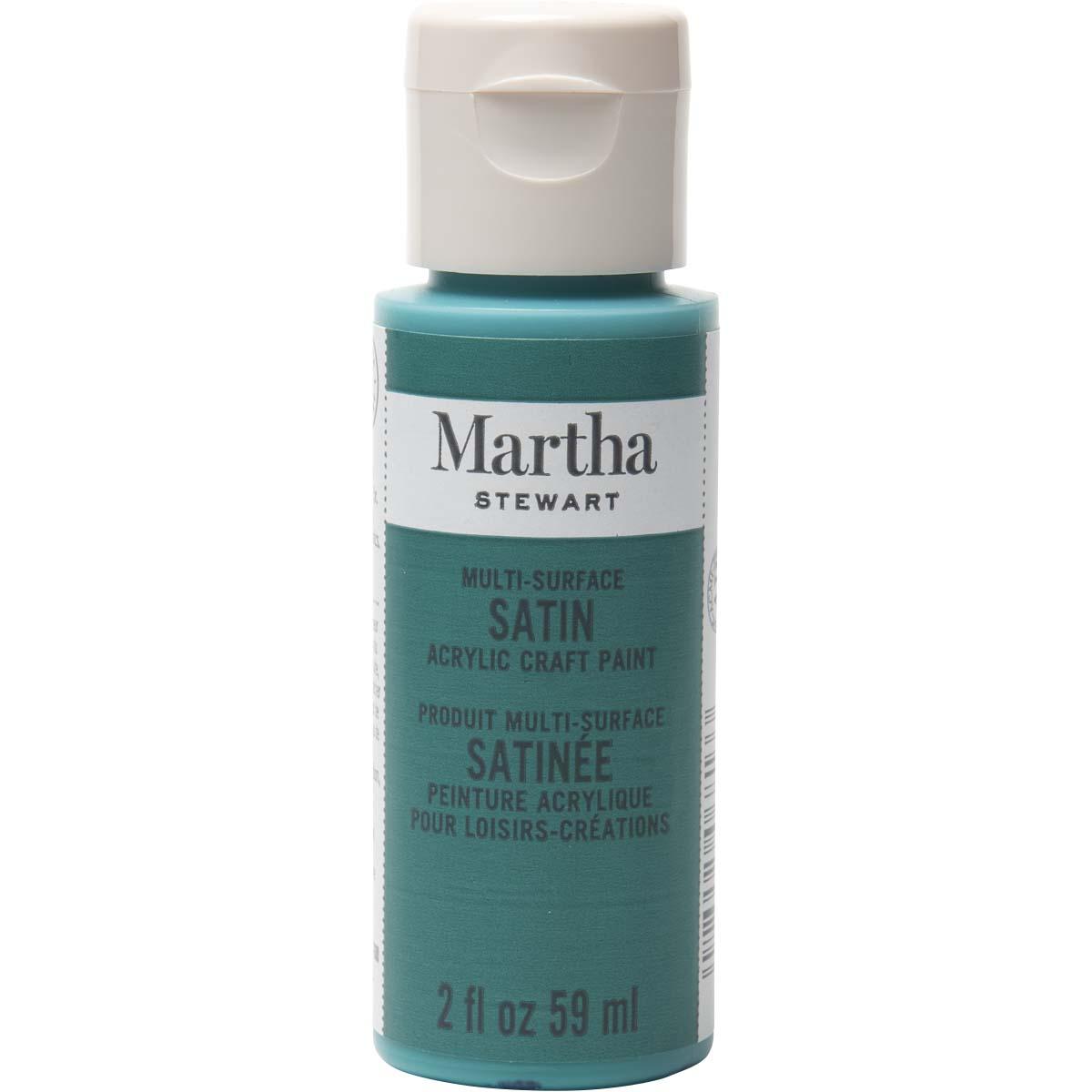 Martha Stewart® 2oz Multi-Surface Satin Acrylic Craft Paint - Mermaid Teal