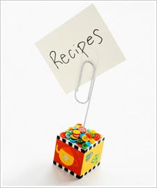 Teapot Recipe Clip