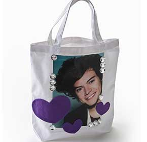 Photo Transfer Pop Star Tote