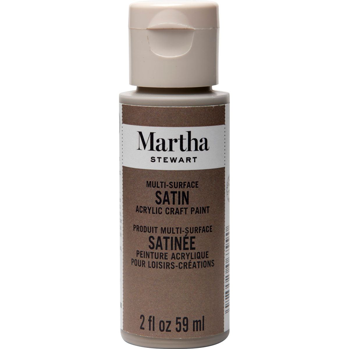 Martha Stewart® 2oz Multi-Surface Satin Acrylic Craft Paint - Gray Wolf