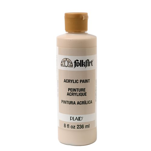 FolkArt ® Acrylic Colors - Linen, 8 oz.