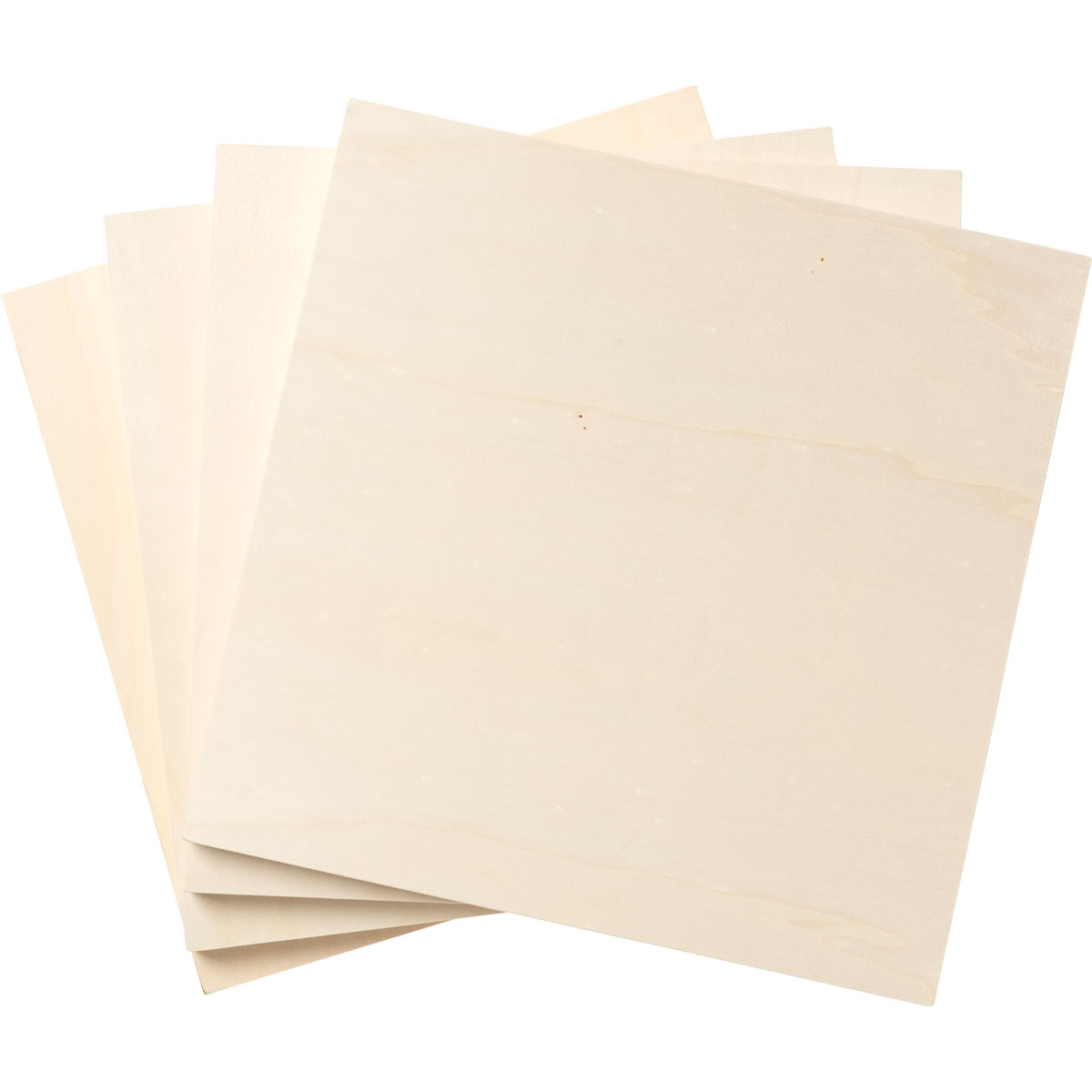 Plaid ® Wood Surfaces - Plywood Panel Bundle, 4 pieces, 10