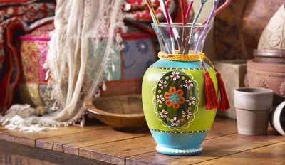 Folkloric Vase