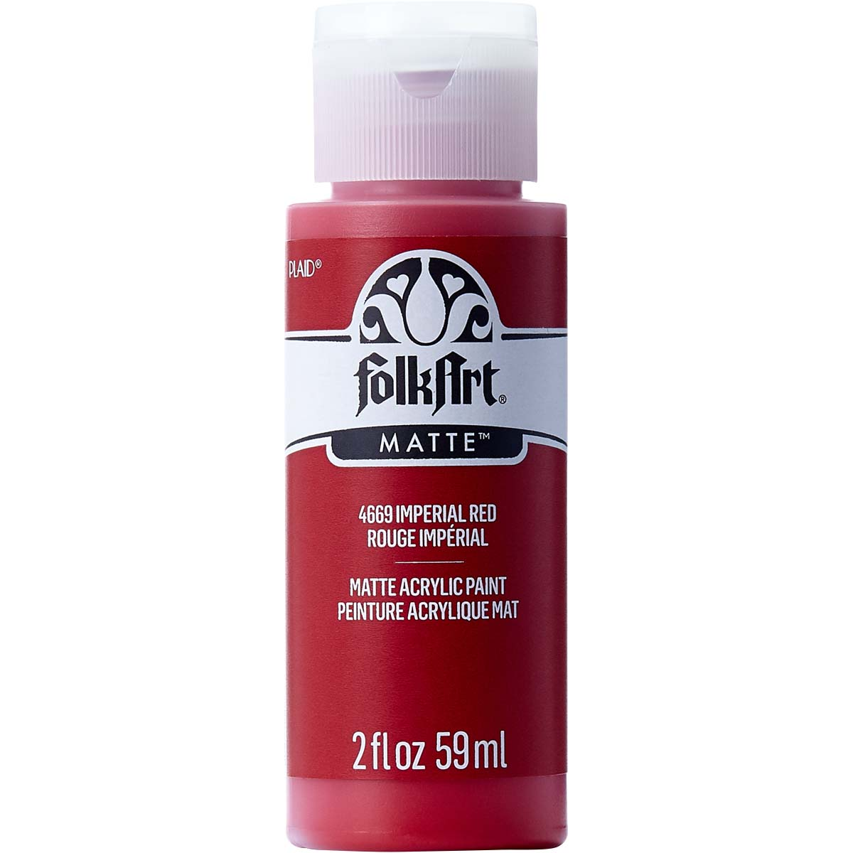 FolkArt ® Acrylic Colors - Imperial Red, 2 oz. - 4669