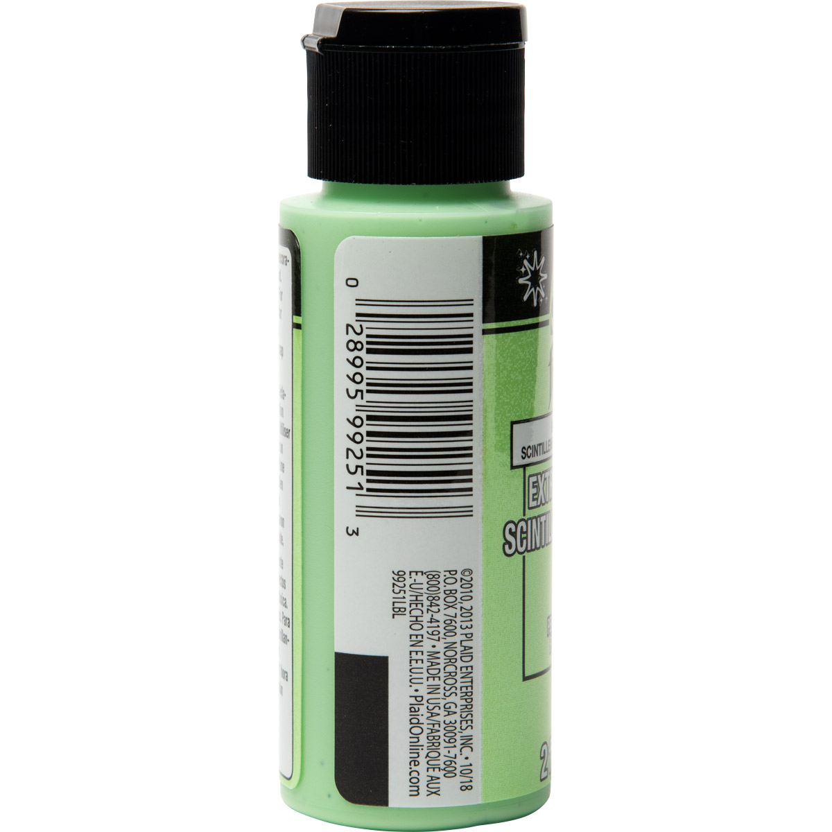 FolkArt ® Extreme Glitter™ - Lime Twinkle, 2 oz.