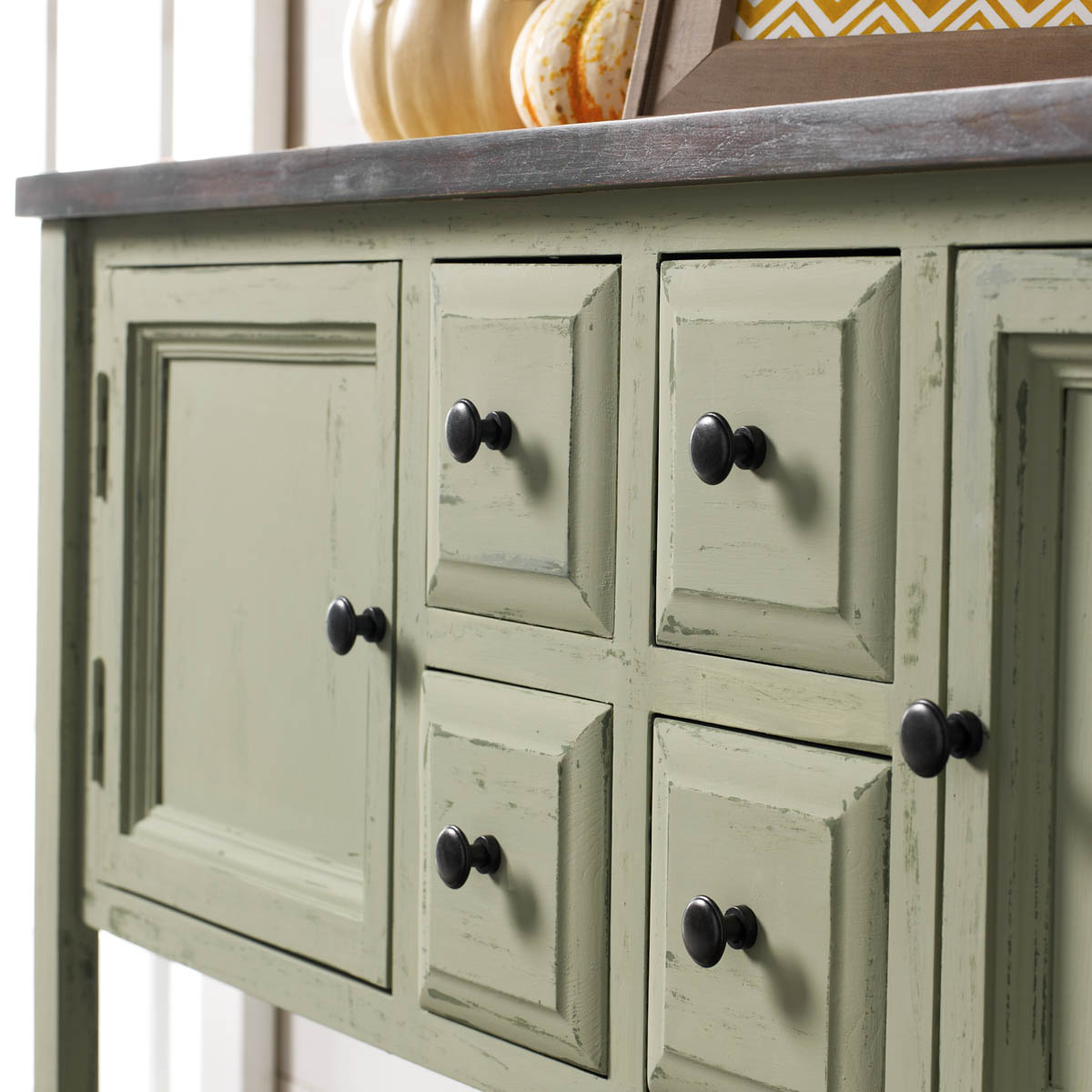 Perfect Painted Buffet Table With Chalk Finish