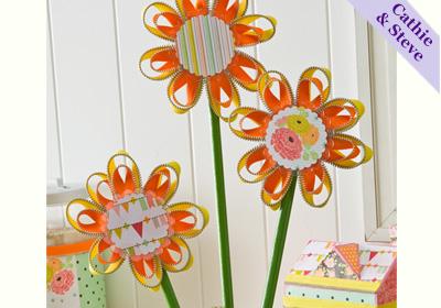 Zipper Flower Bouquet