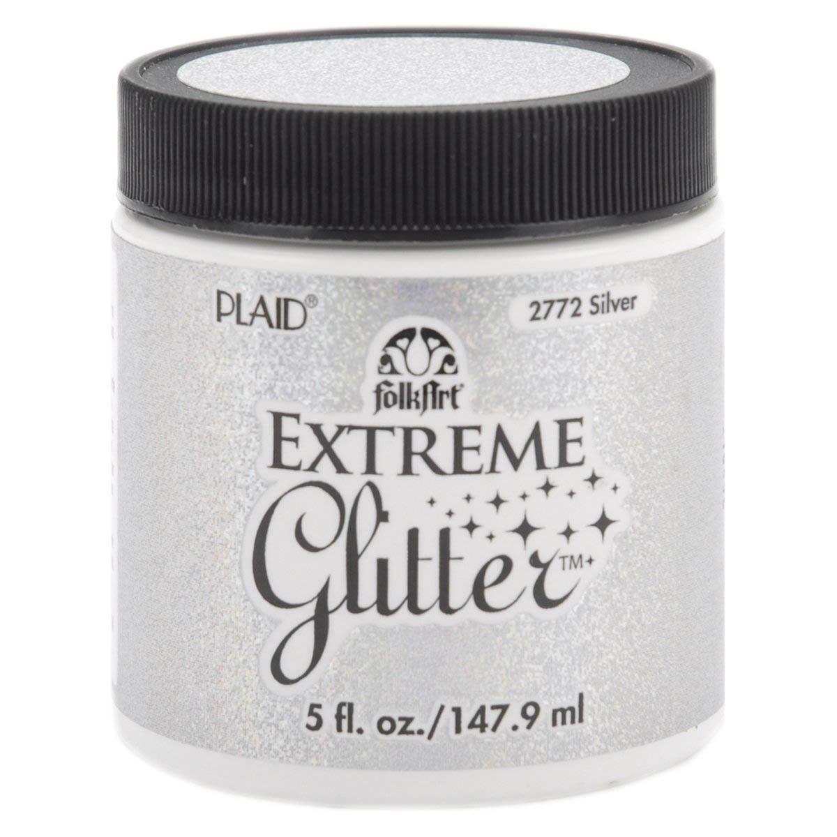 FolkArt ® Extreme Glitter™ - Silver, 5 oz.