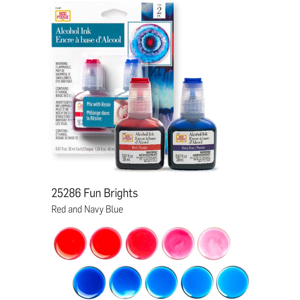 Mod Podge ® Alcohol Ink Set - Fun Brights, 2 pc. - 25286