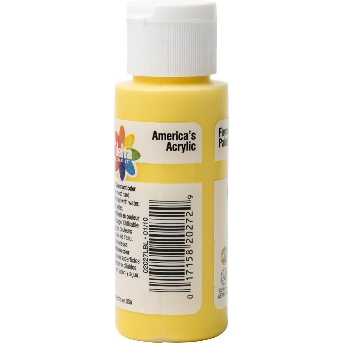 Delta Ceramcoat ® Acrylic Paint - Bright Yellow, 2 oz. - 020270202W