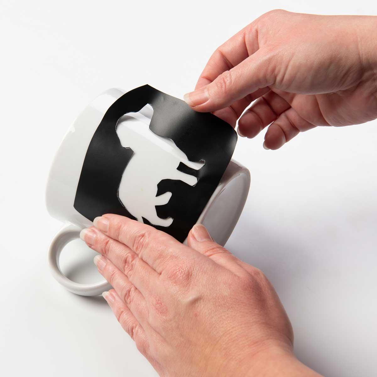 FolkArt ® Laser Cut Adhesive Stencils - Blank, 4 pc.