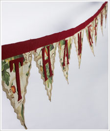 Thankful Fabric Garland