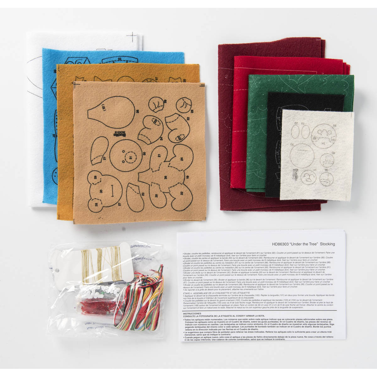 Bucilla ® Seasonal - Felt - Stocking Kits - Under the Tree