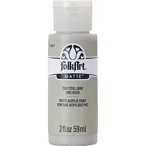 FolkArt ® Acrylic Colors - Steel Gray, 2 oz. - 2561