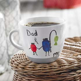 Father's Day Crafts - Daddy & Me Mug