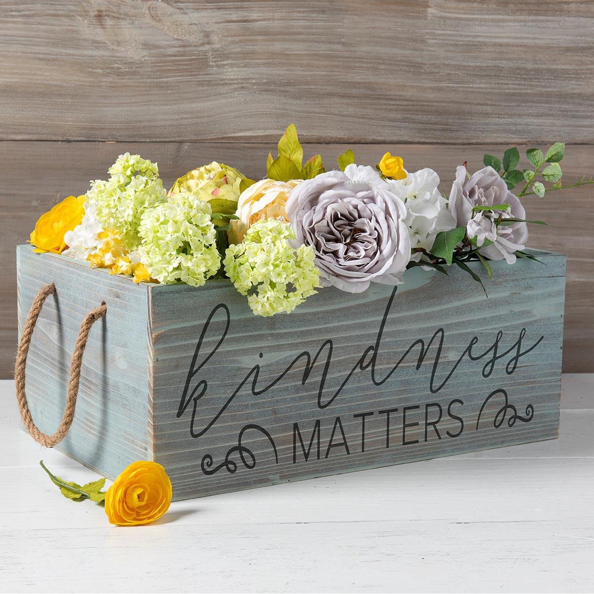 FolkArt ® Sign Shop™ Mesh Stencil - Kindness Matters - 63384