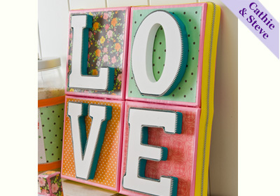 Love Art Canvas