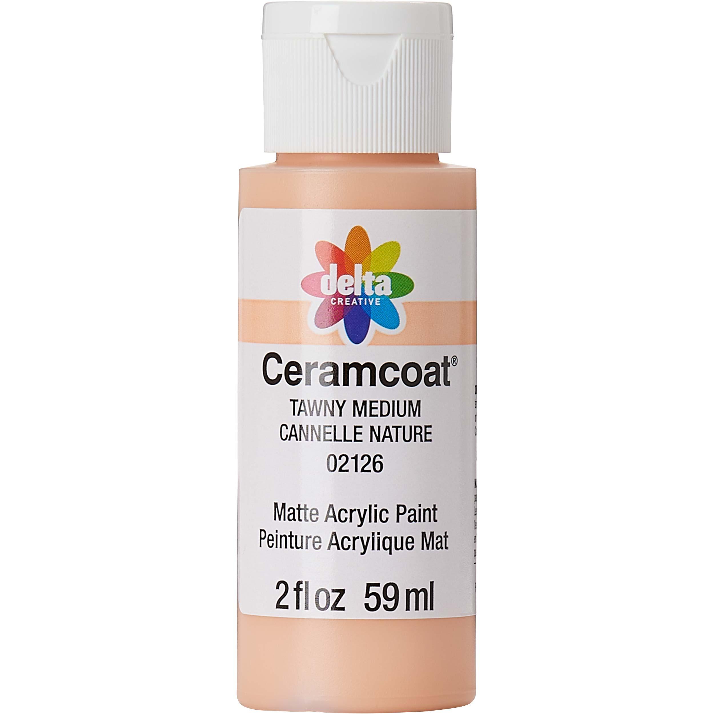 Delta Ceramcoat ® Acrylic Paint - Tawny Medium, 2 oz.
