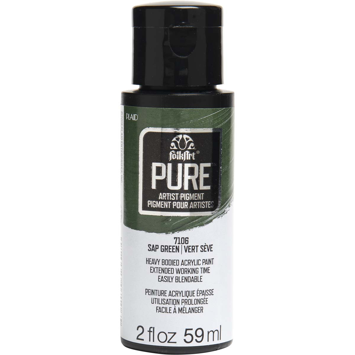 FolkArt ® Pure™ Artist Pigment - Sap Green, 2 oz. - 7106