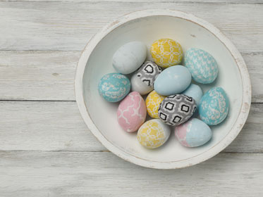 Tabletop Easter Eggs Decoration