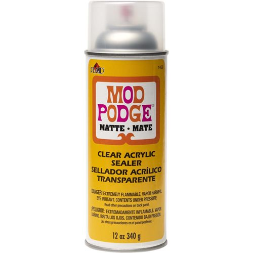 Mod Podge ® Clear Acrylic Sealer - Matte, 12 oz. - 1469