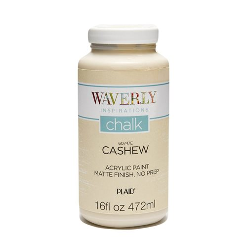 Waverly ® Inspirations Chalk Finish Acrylic Paint - Cashew, 16 oz. - 60747E