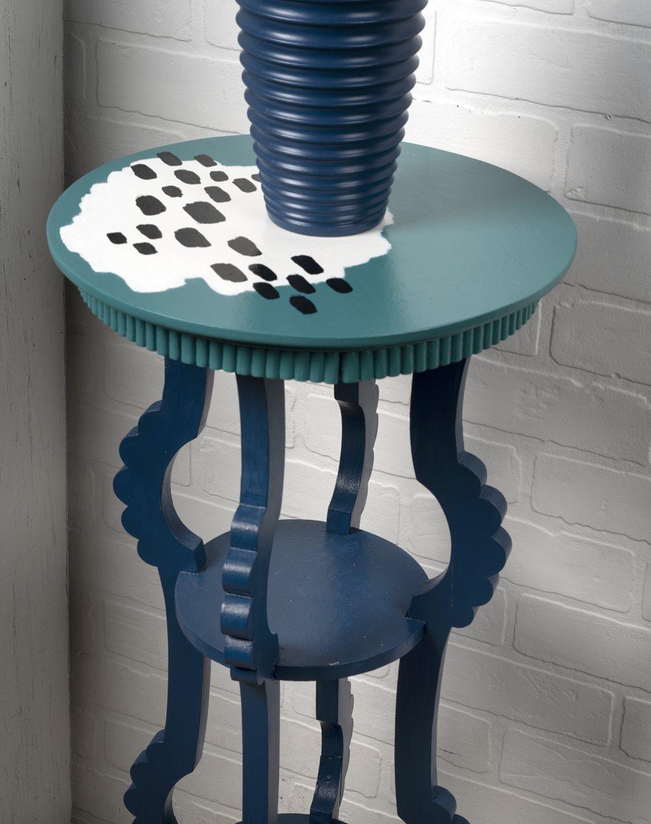 FolkArt One Decor Gloss Small Side Table