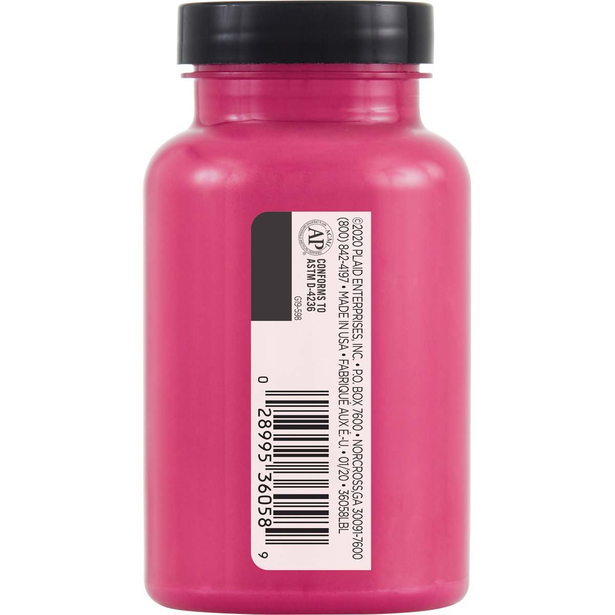 FolkArt ® One Décor Paint™ - Deep Fuchsia, 8 oz. - 36058