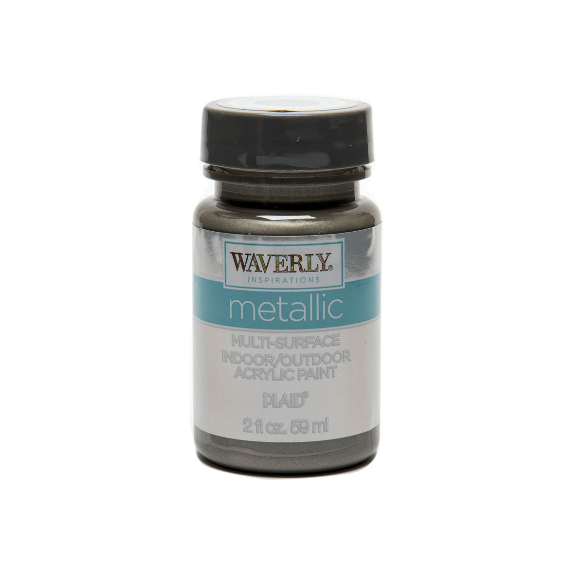 Waverly ® Inspirations Metallic Multi-Surface Acrylic Paint - Antique Silver, 2 oz. - 60926E