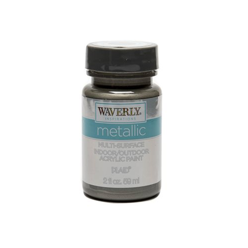Waverly ® Inspirations Metallic Multi-Surface Acrylic Paint - Antique Silver, 2 oz. - 60926E
