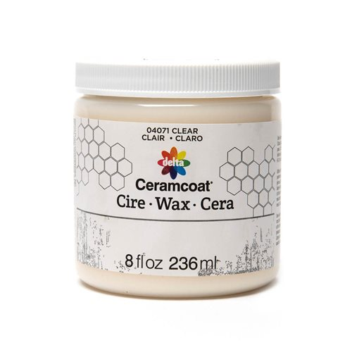 Delta Ceramcoat ® Wax - Clear, 8 oz.