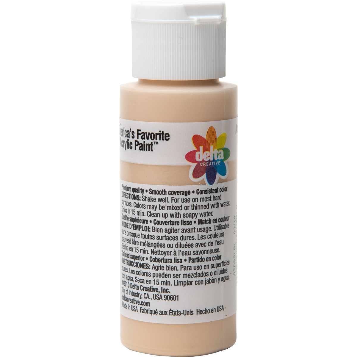 Delta Ceramcoat ® Acrylic Paint - Natural Beige, 2 oz.
