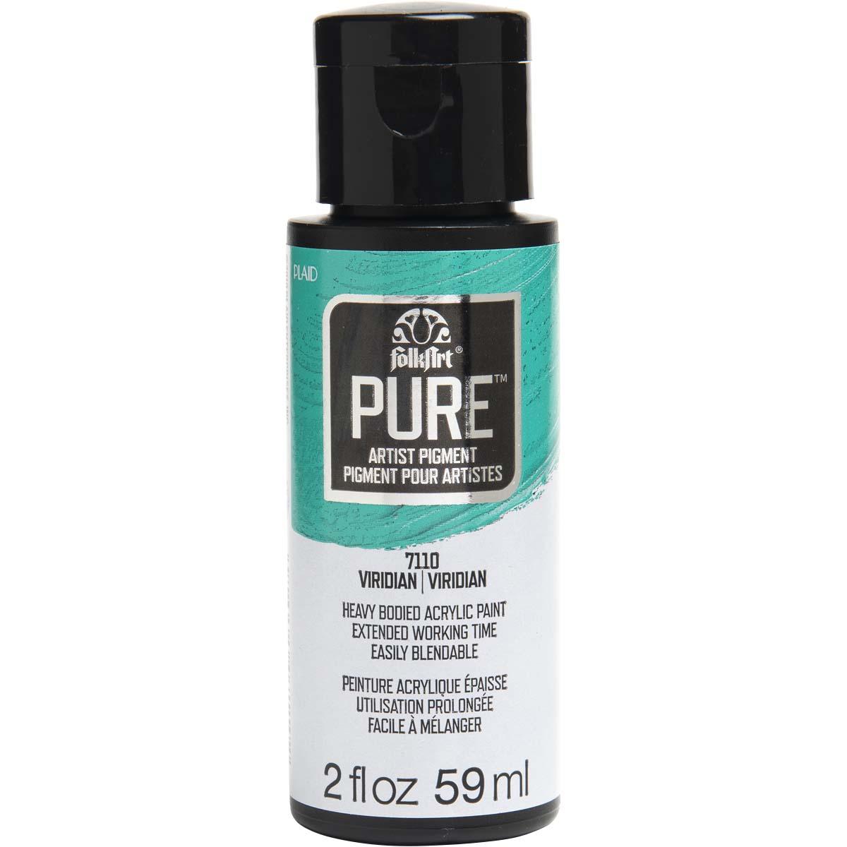 FolkArt ® Pure™ Artist Pigment - Viridian, 2 oz. - 7110