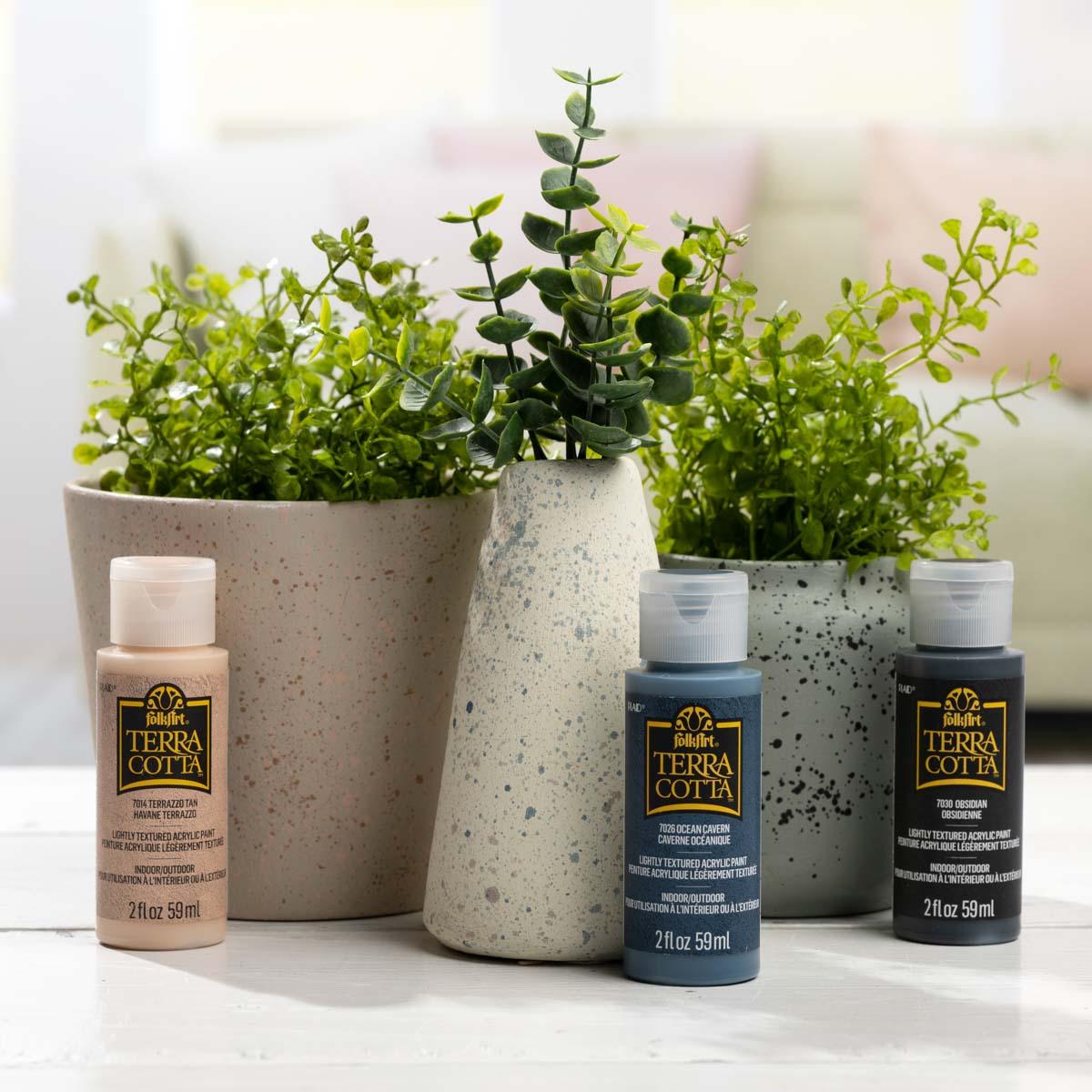 FolkArt ® Terra Cotta™ Acrylic Paint Set - Desert Chic, 5 pcs. - 44508