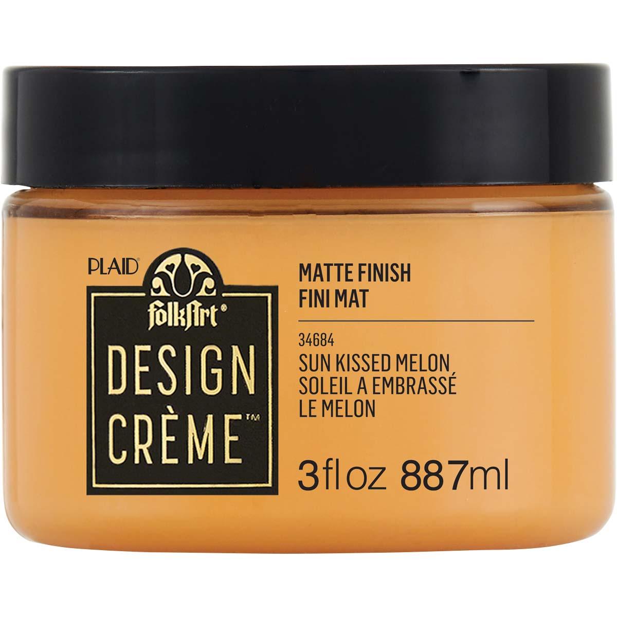 FolkArt ® Design Creme™ - Sun Kissed Melon, 3 oz. - 34684