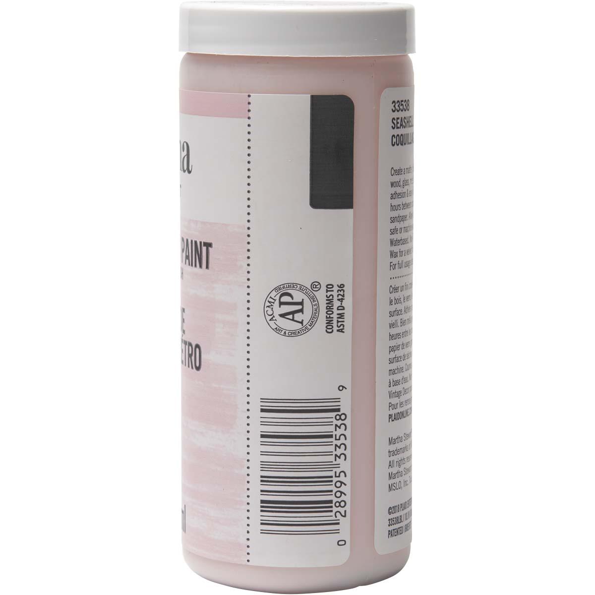 Martha Stewart ® Vintage Decor Matte Chalk Acrylic Paint - Seashell, 8 oz. - 33538