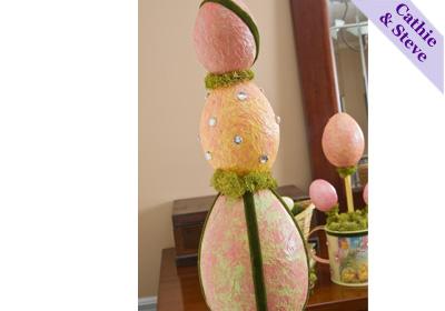 Easter Egg Hanging