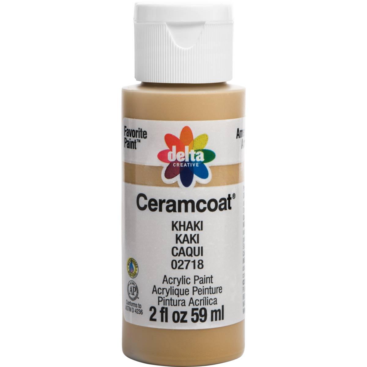 Delta Ceramcoat ® Acrylic Paint - Khaki, 2 oz. - 02718