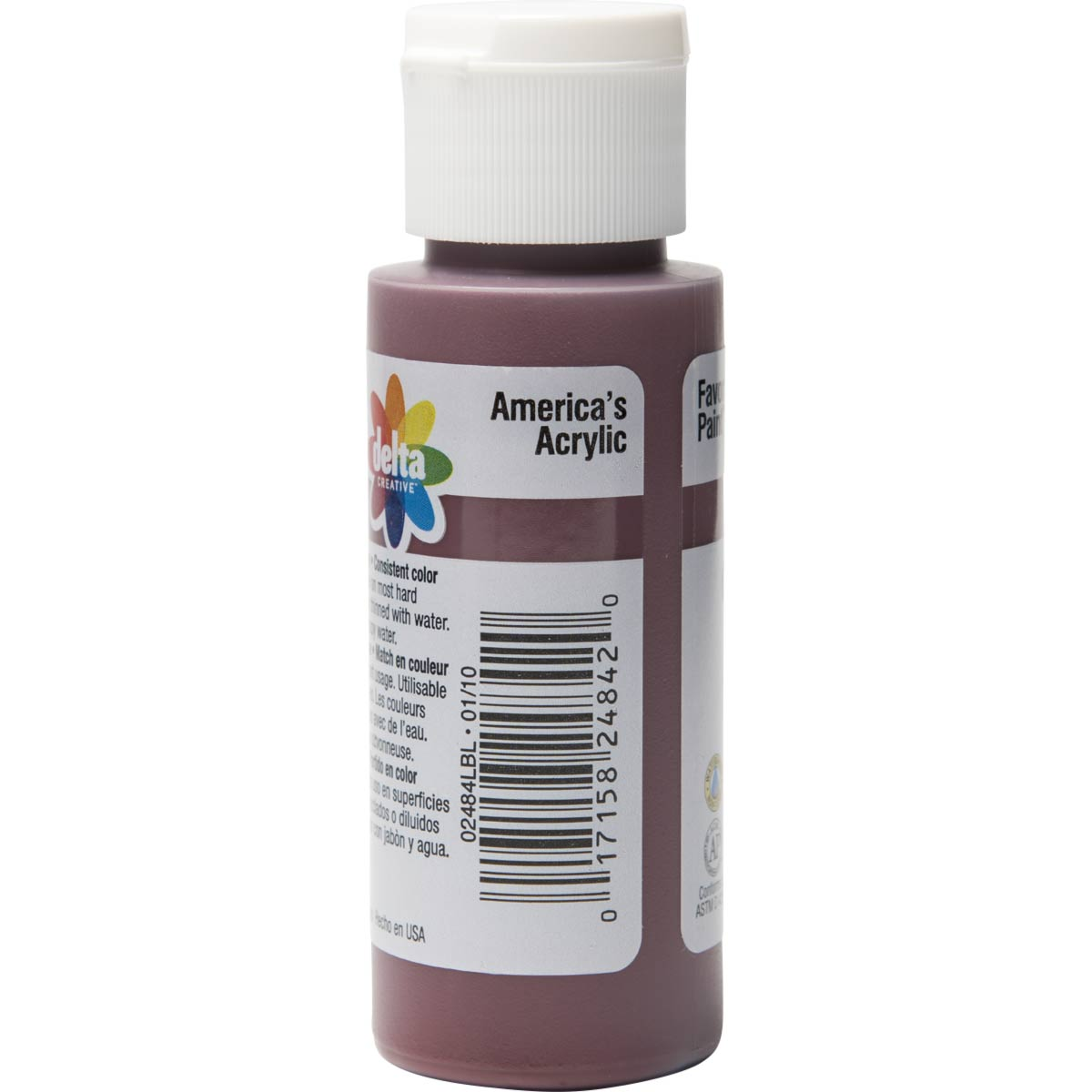 Delta Ceramcoat ® Acrylic Paint - Black Cherry, 2 oz.