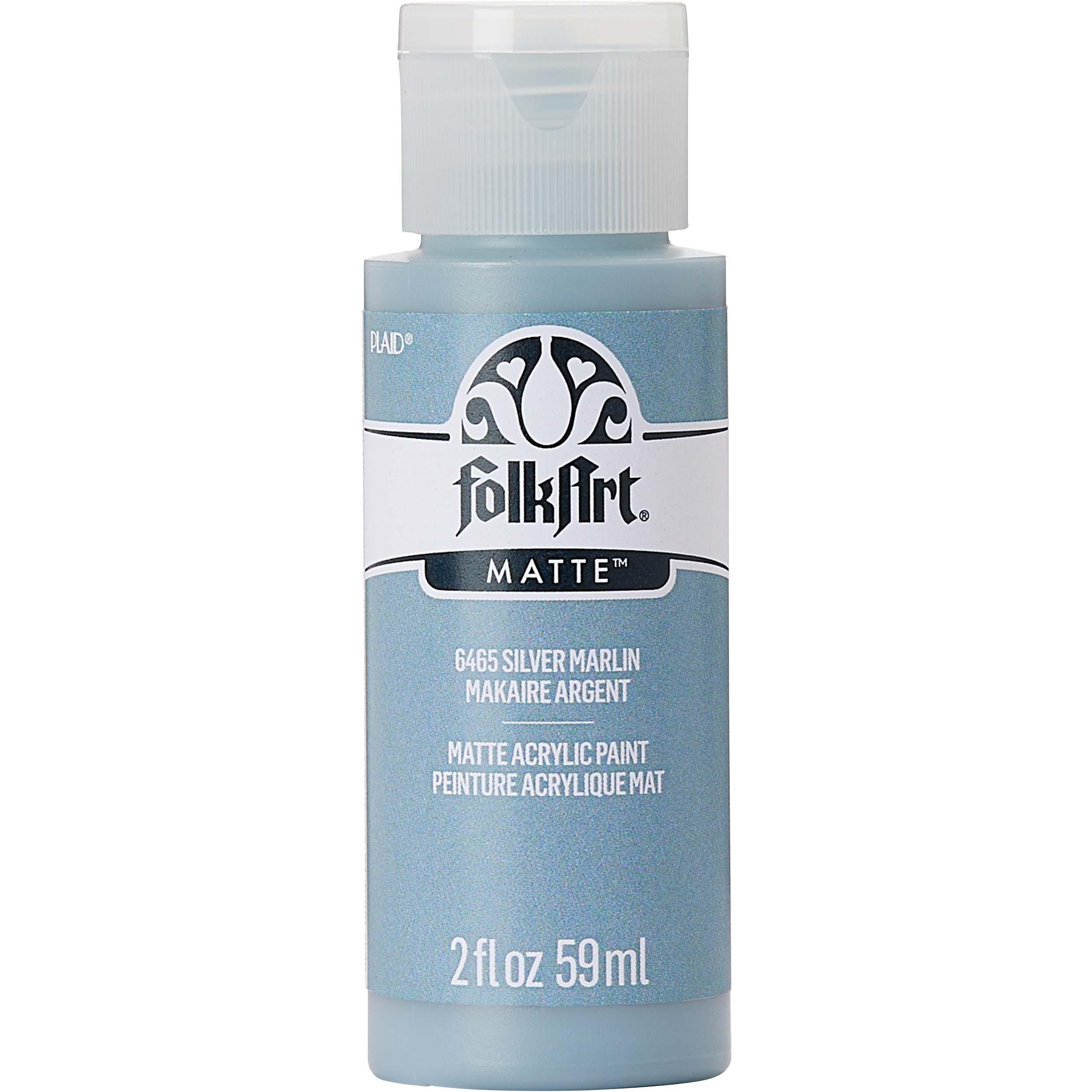 FolkArt ® Acrylic Colors - Silver Marlin, 2 oz. - 6465