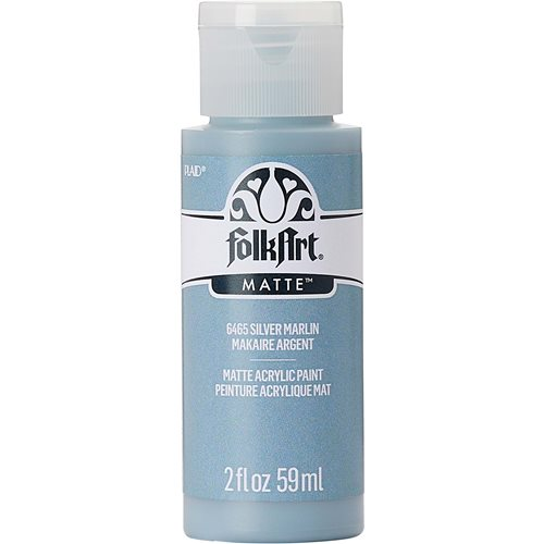 FolkArt ® Acrylic Colors - Silver Marlin, 2 oz.