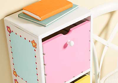 Kids' 3-Shelf Chest