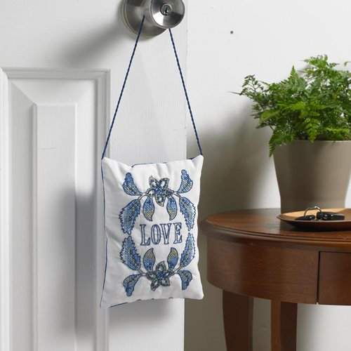 Bucilla Waverly Imperial Dress Collection Stamped Door Hanger