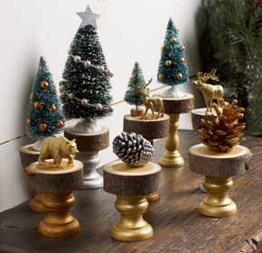 DIY Christmas Mantel Decorations