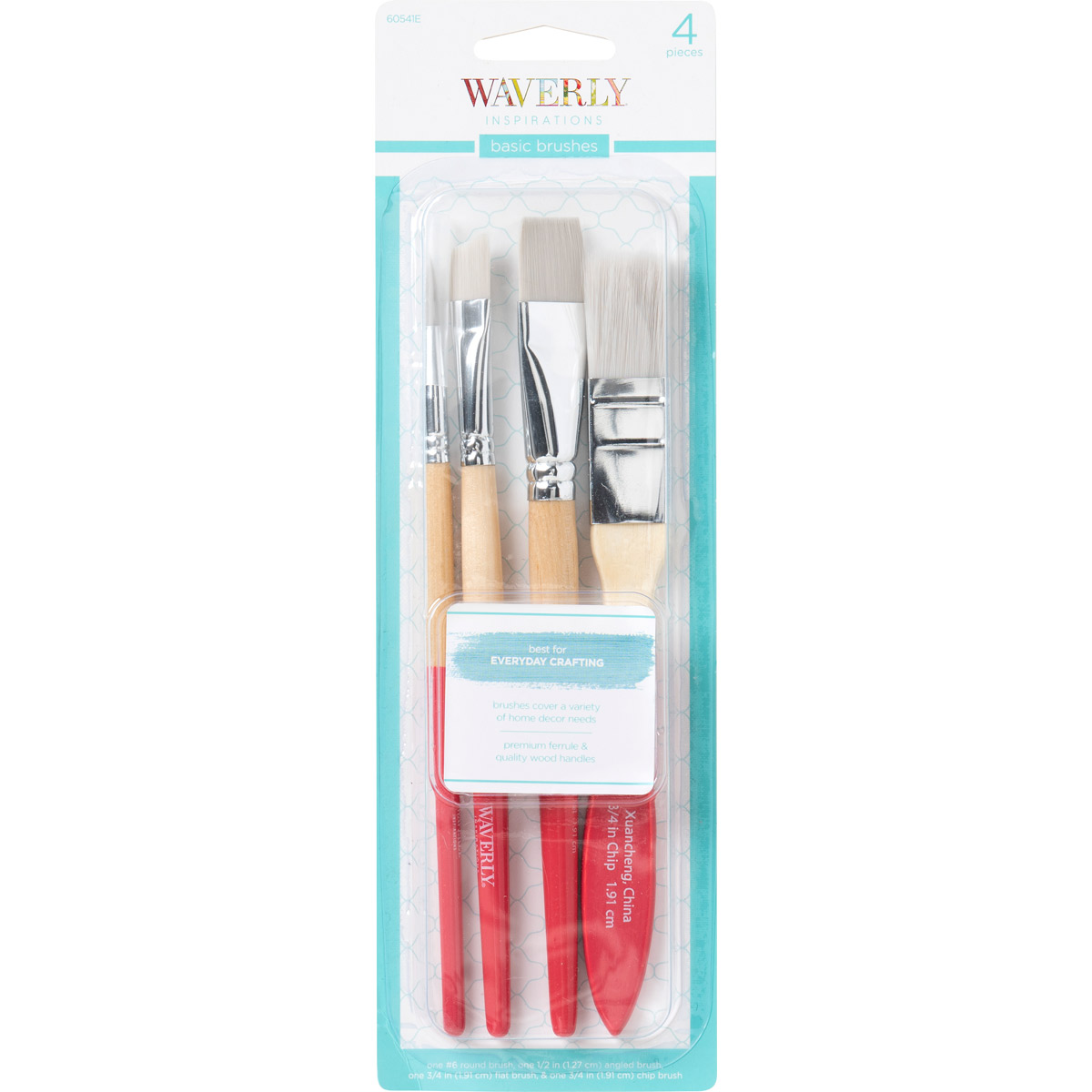 Waverly ® Inspirations Brushes - Basic Set, 4 pc.