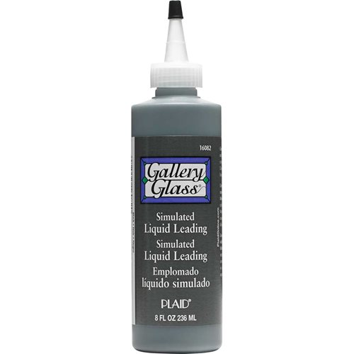 Gallery Glass ® Liquid Leading™ - Black, 8 oz.