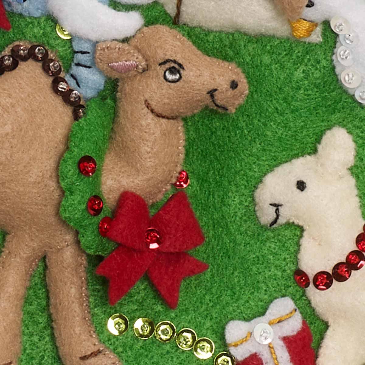 Bucilla ® Seasonal - Felt - Stocking Kits - Noah's Ark