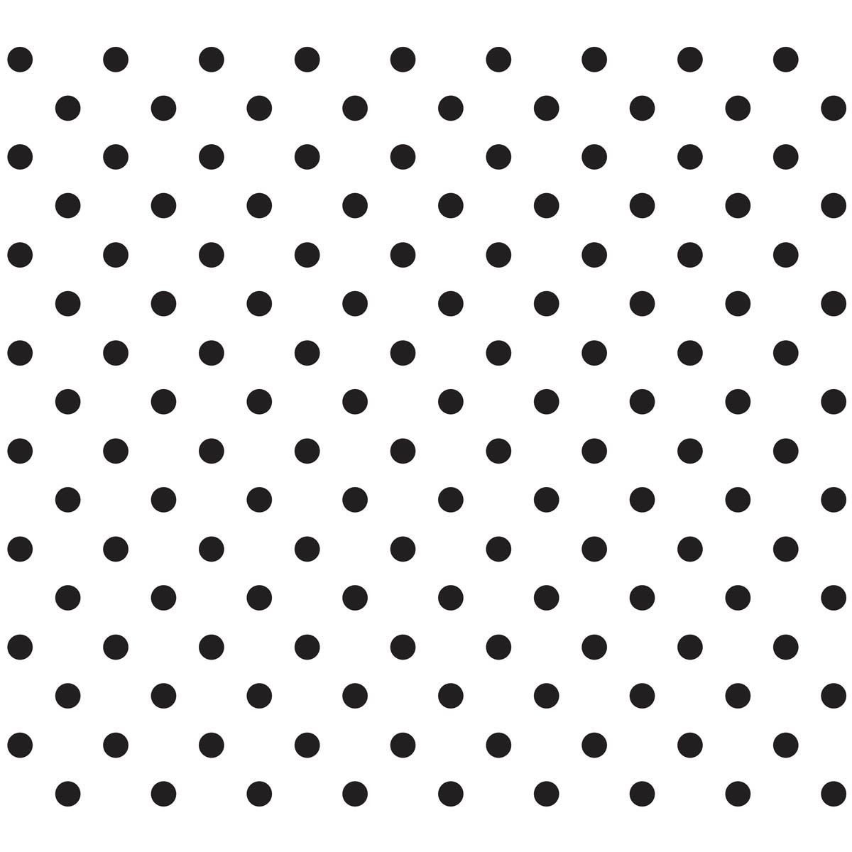 Waverly ® Inspirations Laser Stencils - Accent - Polka Dot, 6